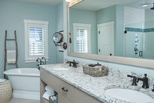 House Plan Design - Country Interior - Master Bathroom Plan #928-297