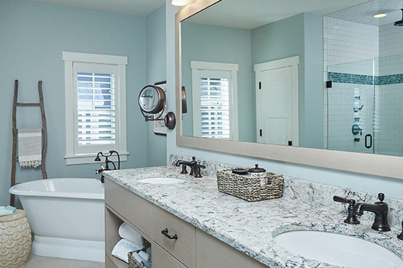 Country Interior - Master Bathroom Plan #928-297 - Houseplans.com