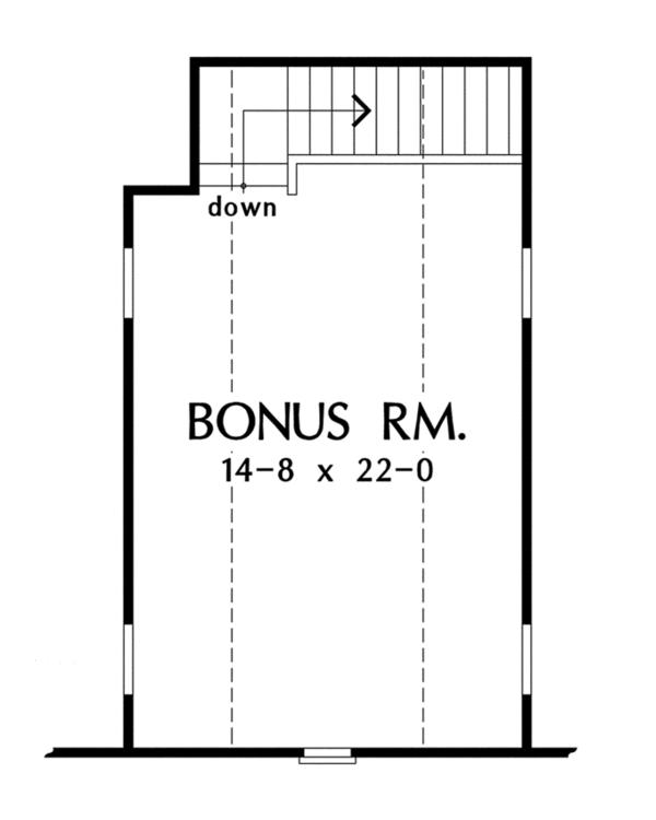 Traditional Floor Plan - Other Floor Plan Plan #929-925