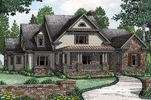 Architectural House Design - Farmhouse Exterior - Front Elevation Plan #927-978
