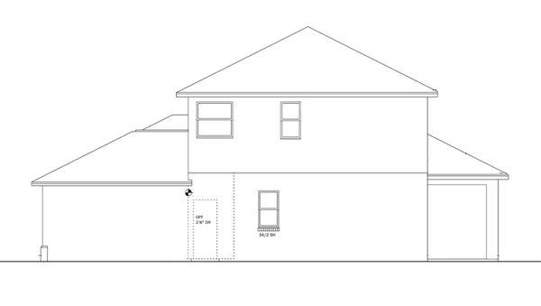 Colonial Floor Plan - Other Floor Plan Plan #1058-23