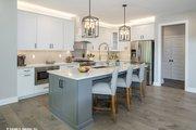 Craftsman Style House Plan - 4 Beds 3.5 Baths 3102 Sq/Ft Plan #929-60 Interior - Kitchen