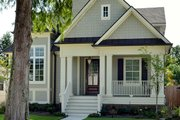 Craftsman Style House Plan - 4 Beds 4 Baths 2672 Sq/Ft Plan #929-837 Exterior - Front Elevation