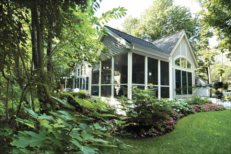 Traditional Exterior - Other Elevation Plan #928-106 - Houseplans.com