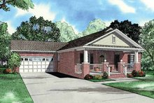 Home Plan - Craftsman Exterior - Front Elevation Plan #17-2751