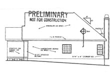 House Design - Country Exterior - Other Elevation Plan #927-240