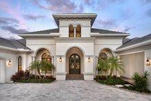 House Plan Design - Mediterranean Exterior - Front Elevation Plan #1017-166
