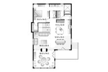 Country Floor Plan - Main Floor Plan Plan #23-2495