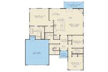 Contemporary Floor Plan - Main Floor Plan Plan #17-3393