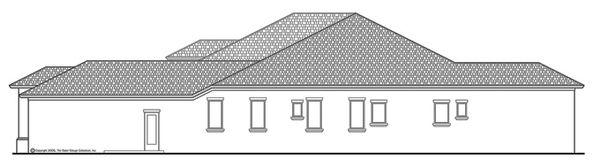 Mediterranean Floor Plan - Other Floor Plan Plan #930-443