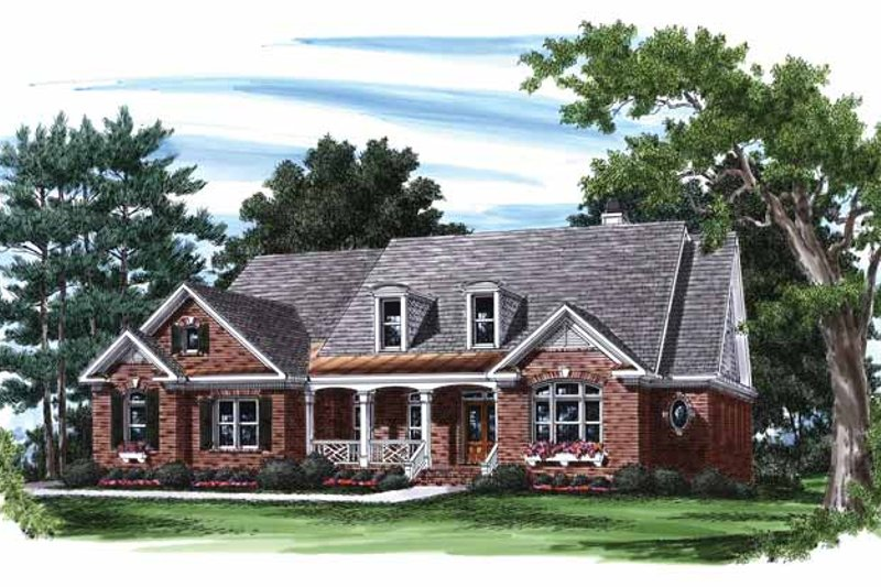 Country Exterior - Front Elevation Plan #927-805 - Houseplans.com