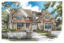 Traditional Exterior - Front Elevation Plan #929-771