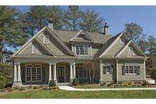 Craftsman Exterior - Front Elevation Plan #54-296