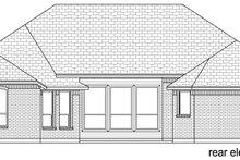 Dream House Plan - European Exterior - Rear Elevation Plan #84-595