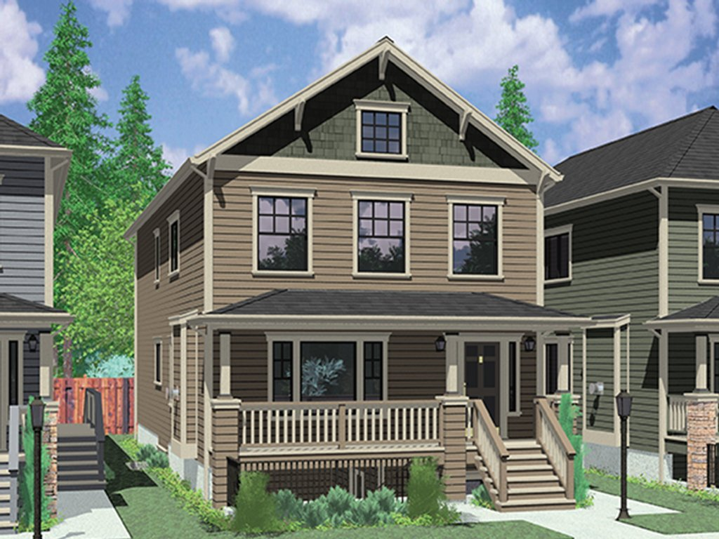 Craftsman style house plan 6 beds 4 5 baths 2881 sq ft for Craftsman vs mission style