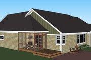 Craftsman Style House Plan - 3 Beds 2.5 Baths 1897 Sq/Ft Plan #51-515