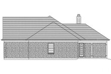 Dream House Plan - Traditional Exterior - Other Elevation Plan #46-373