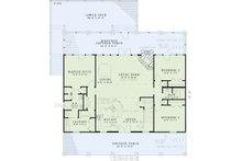 Country Floor Plan - Main Floor Plan Plan #17-2512