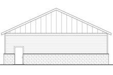 House Plan Design - Traditional Exterior - Rear Elevation Plan #124-1070