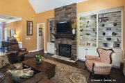 Traditional Style House Plan - 3 Beds 2 Baths 2142 Sq/Ft Plan #929-911 Interior - Family Room
