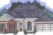 Mediterranean Style House Plan - 5 Beds 3 Baths 2261 Sq/Ft Plan #69-144 Exterior - Front Elevation