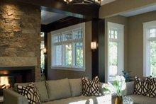 House Plan Design - European Interior - Family Room Plan #928-180