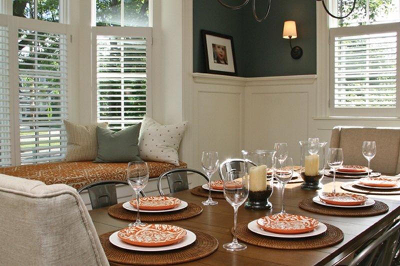 Tudor Interior - Dining Room Plan #928-257 - Houseplans.com