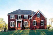 Classical Exterior - Front Elevation Plan #927-60
