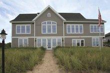 Architectural House Design - European Exterior - Rear Elevation Plan #928-108