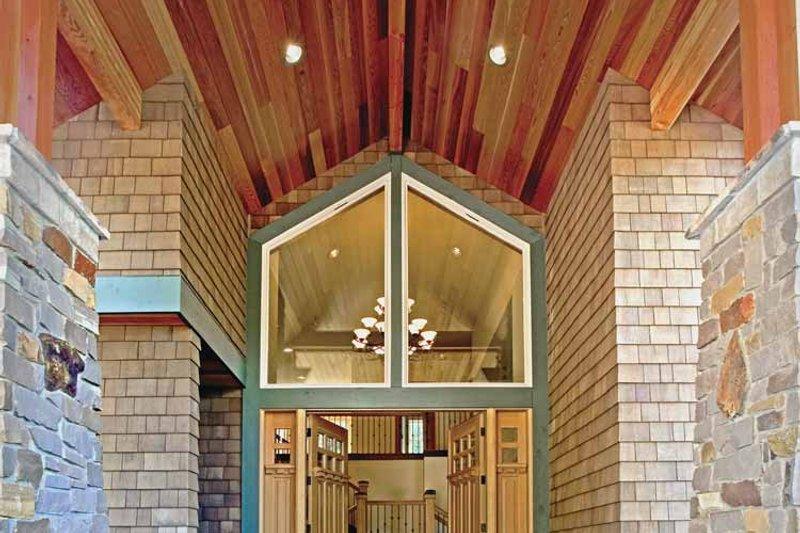 Contemporary Exterior - Front Elevation Plan #951-2 - Houseplans.com