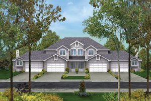 Traditional Exterior - Front Elevation Plan #57-145