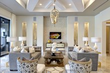 Home Plan - Mediterranean Interior - Family Room Plan #930-444