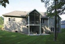 Dream House Plan - Craftsman Exterior - Rear Elevation Plan #928-132