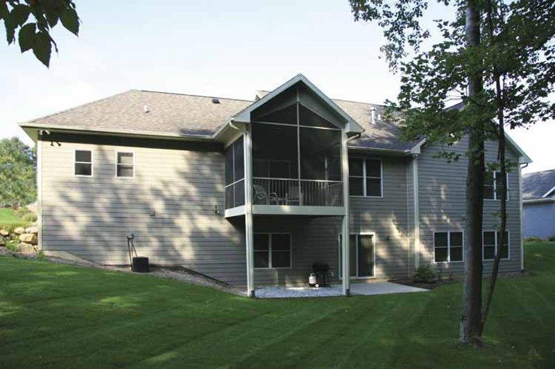 Craftsman Exterior - Rear Elevation Plan #928-132 - Houseplans.com