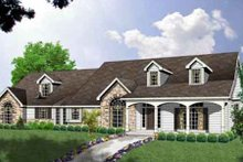 Ranch Exterior - Other Elevation Plan #40-132