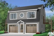 Country Style House Plan - 2 Beds 1.5 Baths 992 Sq/Ft Plan #23-441