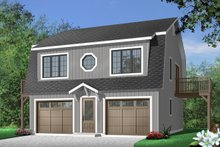 Country Exterior - Front Elevation Plan #23-441