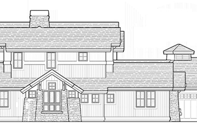 Craftsman Exterior - Other Elevation Plan #892-19 - Houseplans.com