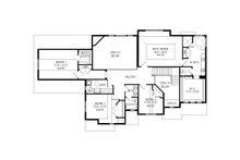Traditional Floor Plan - Upper Floor Plan Plan #920-76