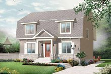 House Plan Design - Colonial Exterior - Front Elevation Plan #23-2415