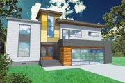 Modern Style House Plan - 3 Beds 3.5 Baths 2803 Sq/Ft Plan #518-4
