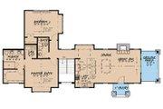 Craftsman Style House Plan - 2 Beds 3 Baths 1920 Sq/Ft Plan #17-3399 Floor Plan - Main Floor Plan