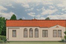 House Plan Design - Mediterranean Exterior - Rear Elevation Plan #1058-6