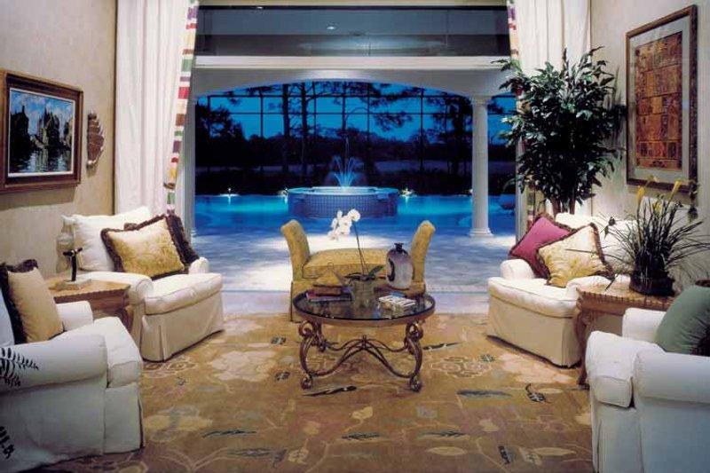 Mediterranean Interior - Family Room Plan #930-105 - Houseplans.com