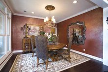 Country Interior - Dining Room Plan #17-3283