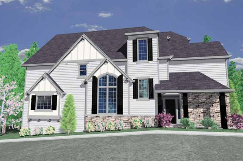 Craftsman Exterior - Other Elevation Plan #509-331 - Houseplans.com