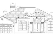 Home Plan - Mediterranean Exterior - Front Elevation Plan #1058-42