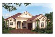 Mediterranean Style House Plan - 3 Beds 2.5 Baths 2576 Sq/Ft Plan #938-24