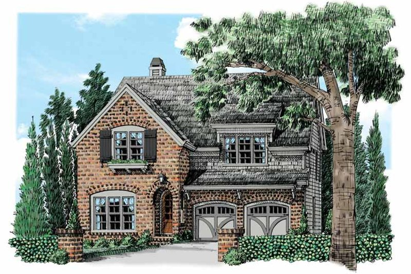 House Plan Design - European Exterior - Front Elevation Plan #927-532