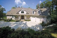 Country Exterior - Front Elevation Plan #929-441